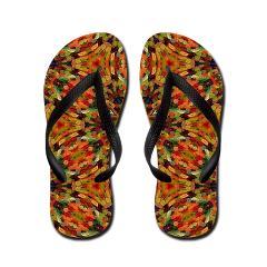 candy_gummy_bears_mosaic_1_flip_flops