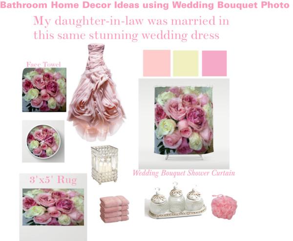 Wedding dress - home decor on WordPress
