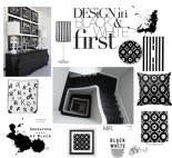 Black and white home decor designs