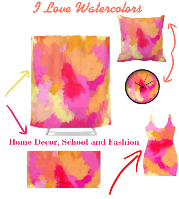 Home Decor using watercolors