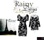 Matching Bodycon dress with raincoat