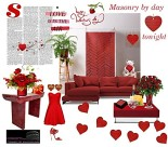 Brick layer by day - love and hearts tonight by celeste@khoncepts.com