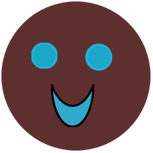 brown-and-blue-smiley-face