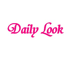 Daily Look Hot Pink text by celeste@khoncepts.com