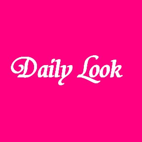 Daily Look Hot Pink with white text by celeste@khoncepts.com
