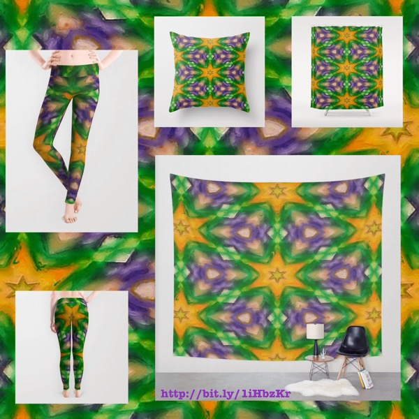Mardi Gras colored inpired gift products