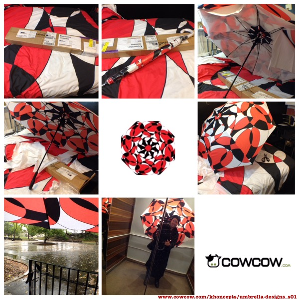 Customized umbrella design