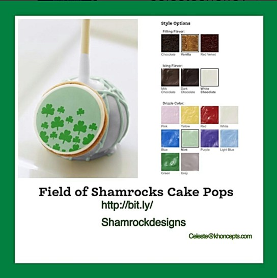 Shamrock Sunday dessert treats