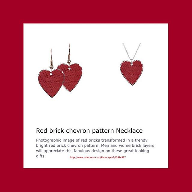 Red hearts jewelry