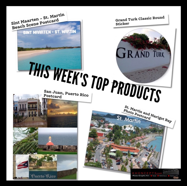 Top selling travel postcards