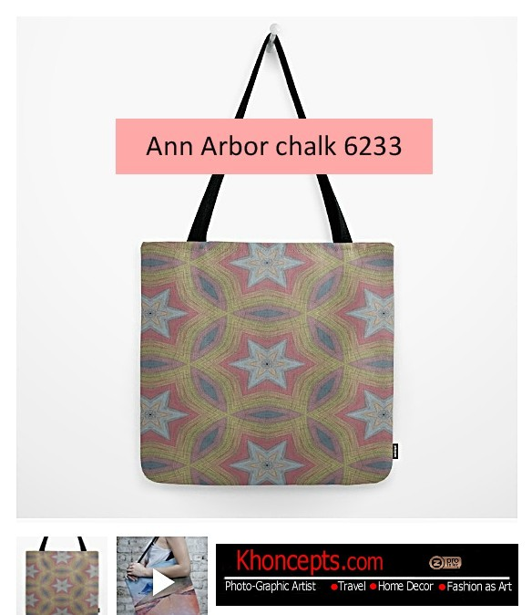 Turn chalk colors into a ladies bag