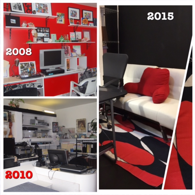 Behind the scenes look of a few personal office transformations