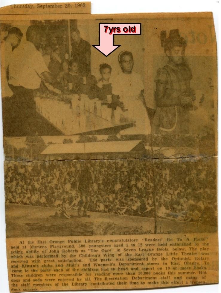 1962 Newspaper clipping of A. Celeste Sheffey
