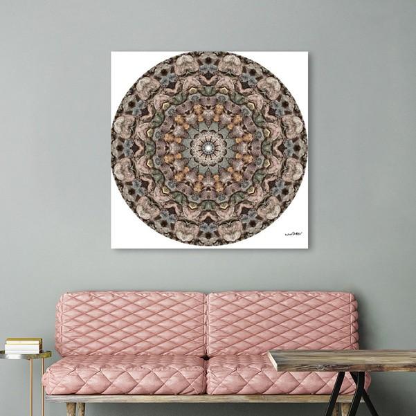 Rock Art Mandala 9812 Acyrlic Print