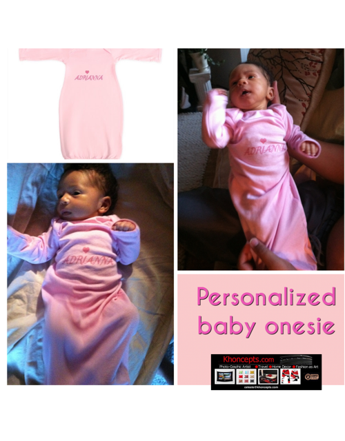 personalized night gown for baby granddaughter