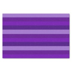 Shades of Purple Stripes tissue paper