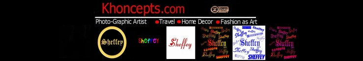 Fashion and Home Decor for anyone named Sheffey