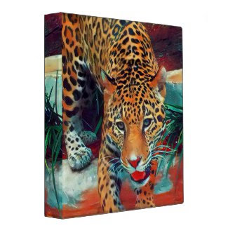 Jaguar In Motion 6234 Art 3 ring binder