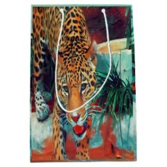 Jaguar In Motion 6234 Art gift bag