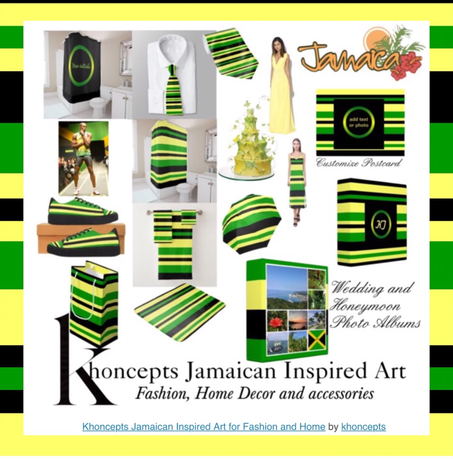Khoncepts Jamaican Art Inspired Fashion Wear And Home Accessories