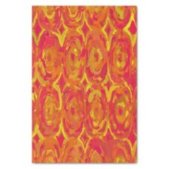 Red, Orange and Yellow Oils 7365 tissue paper