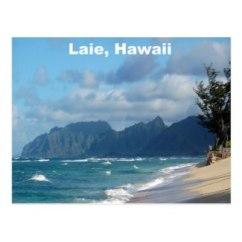 Beautifully serene beach in Oahu