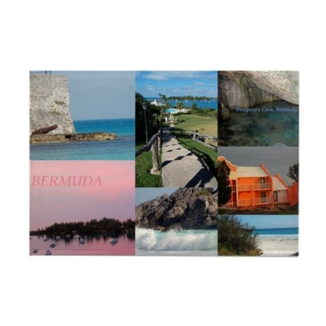 Bermuda Photo Collage magnet - sold in Florida
