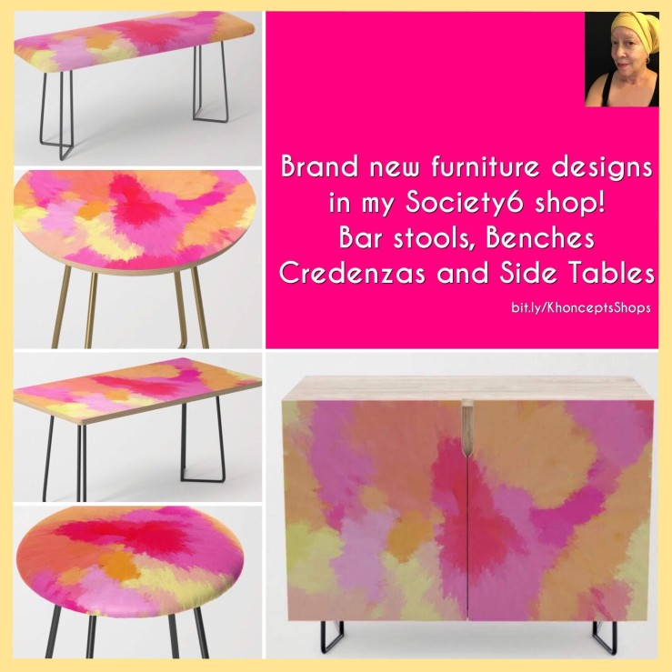 Custom color furniture designs by Khoncepts