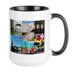 Lucerne Photo Collage Mug - Michigan