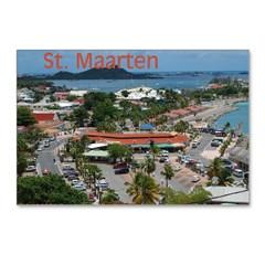 St. Martin Refrigerator Magnets ( 3) - Texas, Ohio, Florida