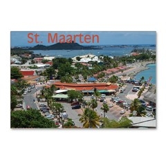 St. Martin Refrigerator Magnets ( 3) - Texas, Ohio, Florida