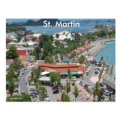 St. Martin and Marigot Bay Postcard