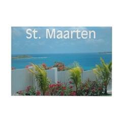 Sint Maarten Seascape Magnet - Florida