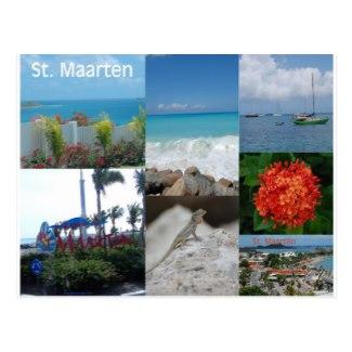 Sint Maarten-St. Martin Postcard