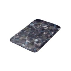 Purple and Lavender Paint Splatter 9163 bath mat